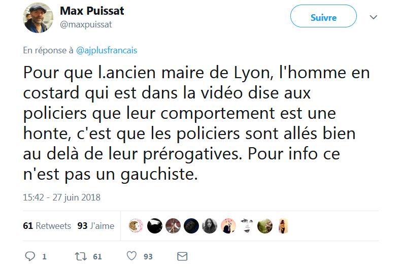 Lyon : facteur vs police municipale