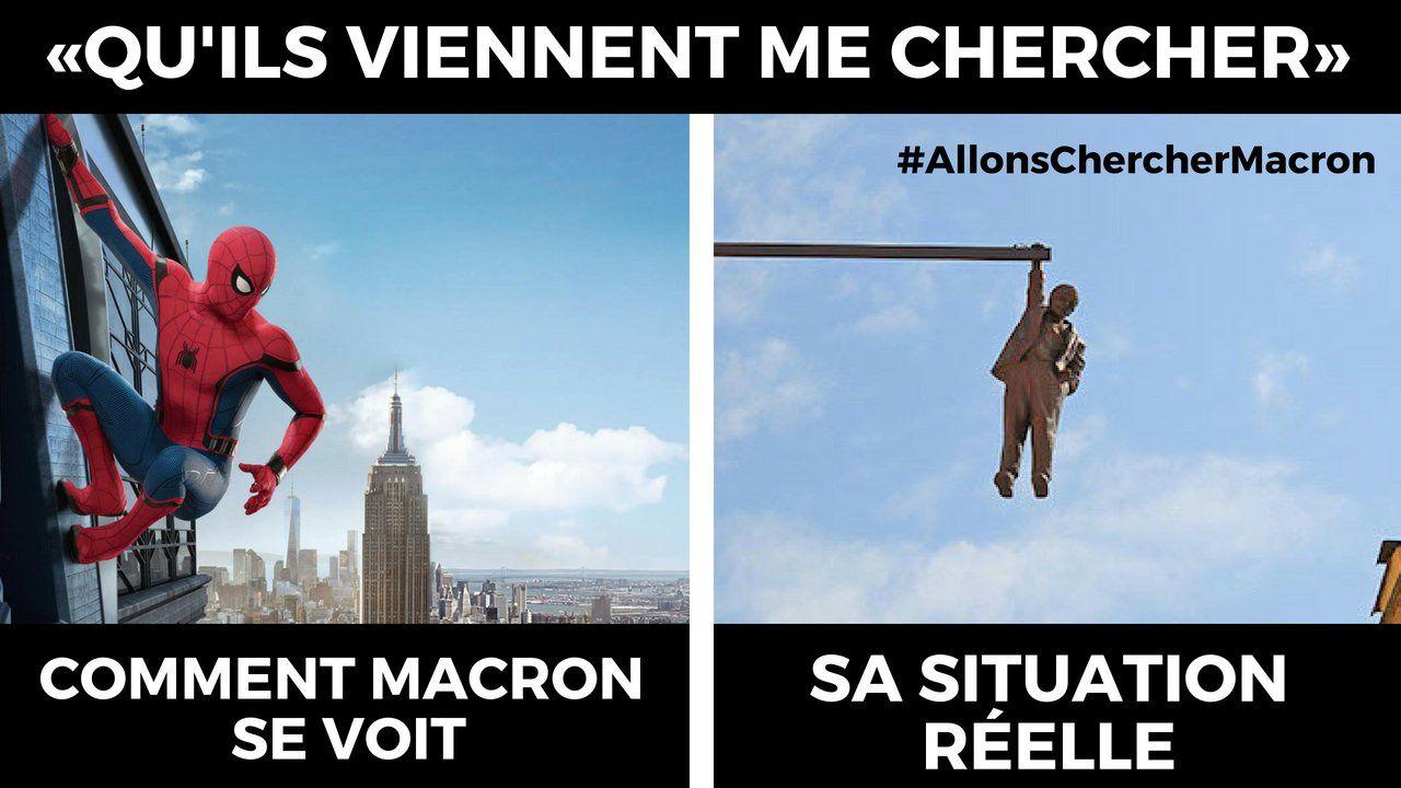 Allons chercher Macron !