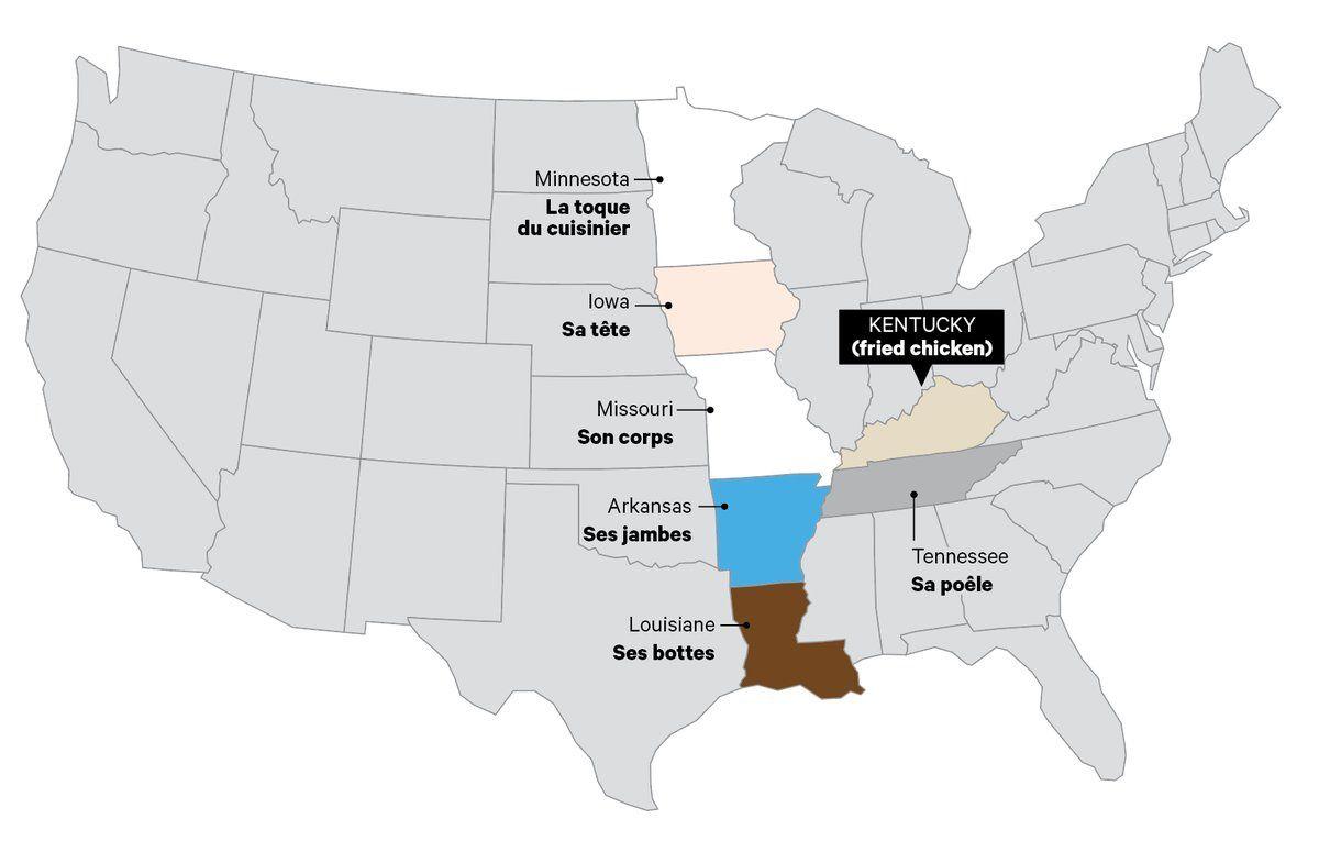 Placer le Kentucky