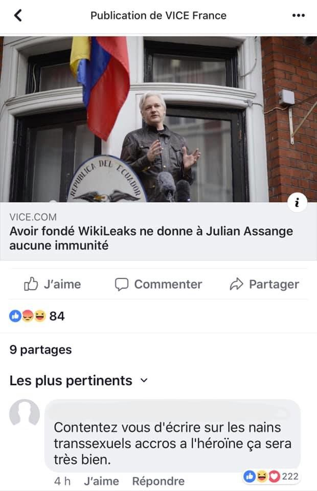 Assange vs Vice