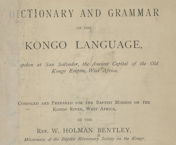 O Estudo da língua kikongo pelos europeus.