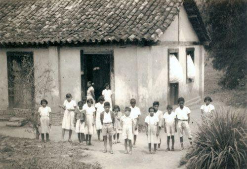 Ser professor, na aldeia