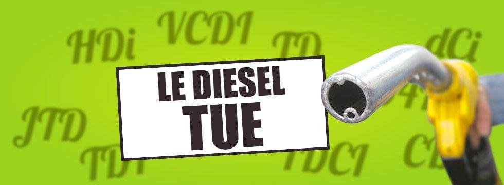 """Le scandale des stickers obligatoires """"le diesel tue"""""""