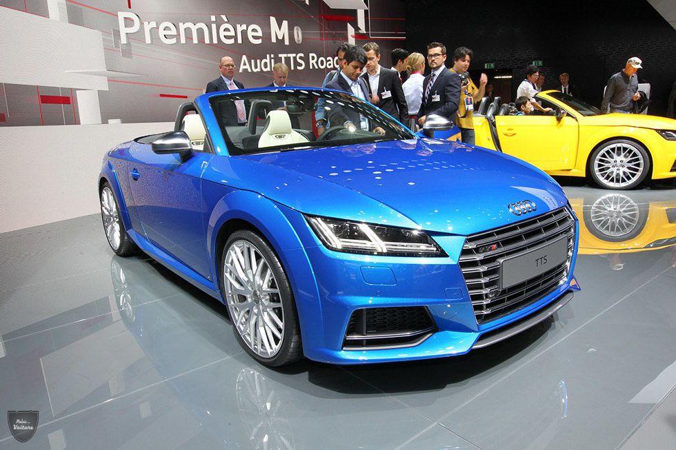 Audi TT : famille nombreuse