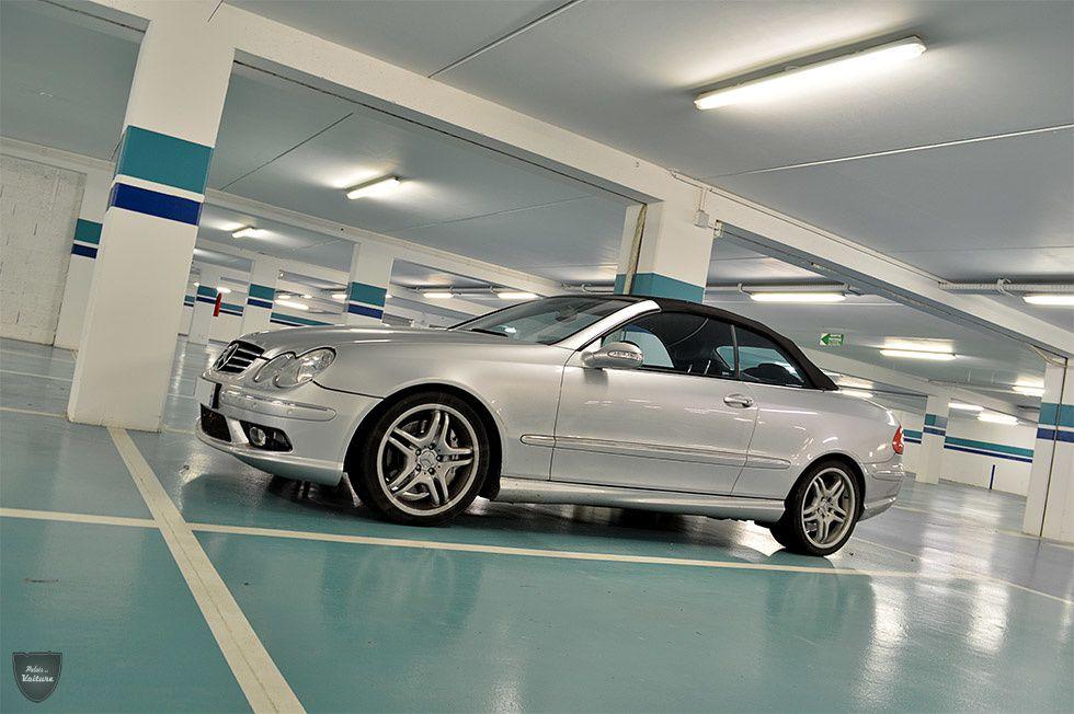 AG52 • Mercedes CLK (W209) 55 AMG cabriolet '02