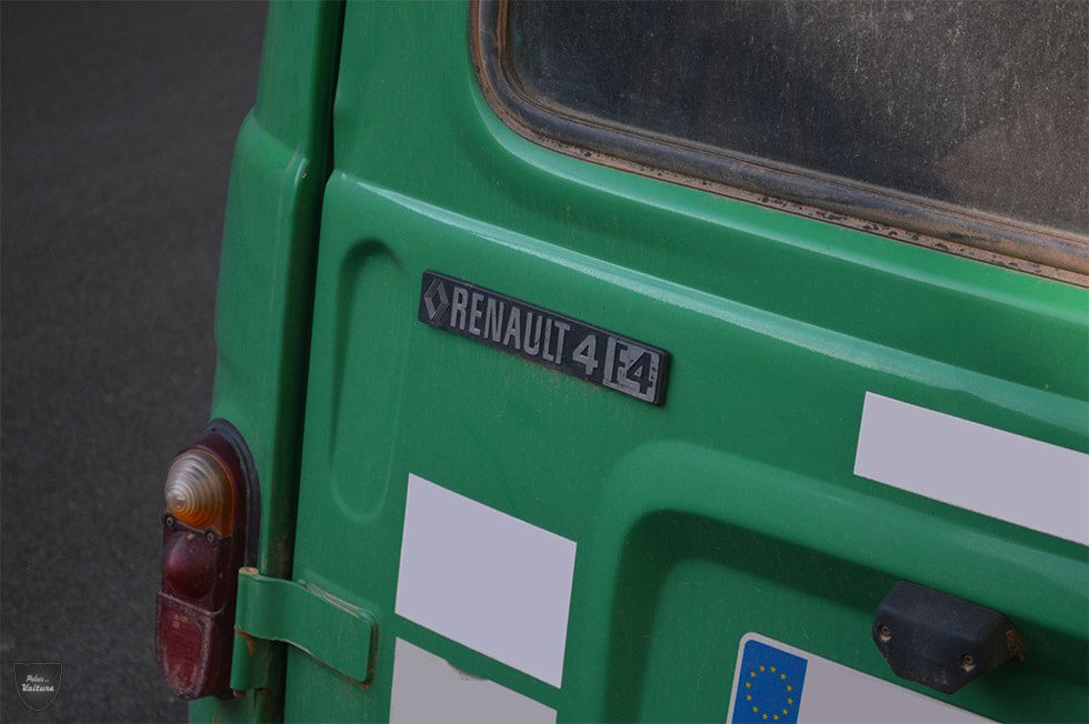 AE58 • Renault 4 F4 (R2109) fourgonnette '78