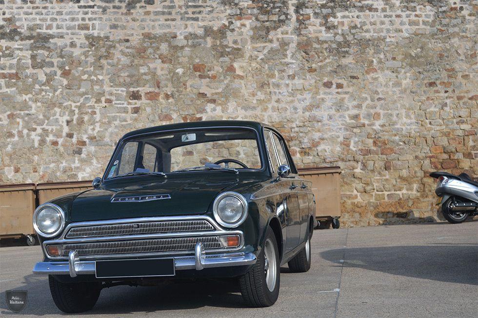 AB33 • Ford Cortina Mk1 GT berline '64