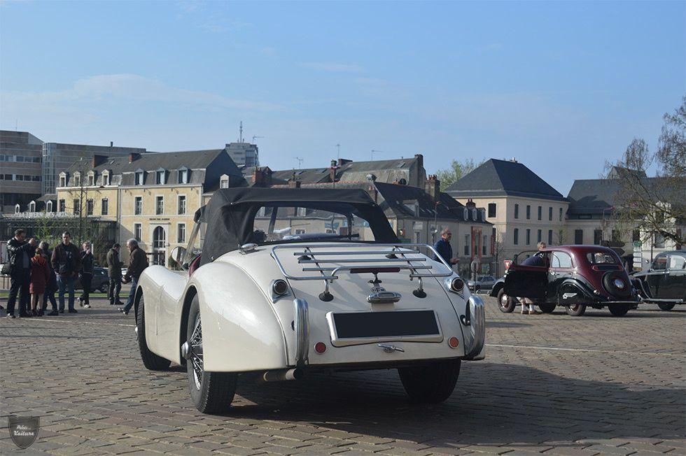 AB65 • Jaguar XK120 roadster '53