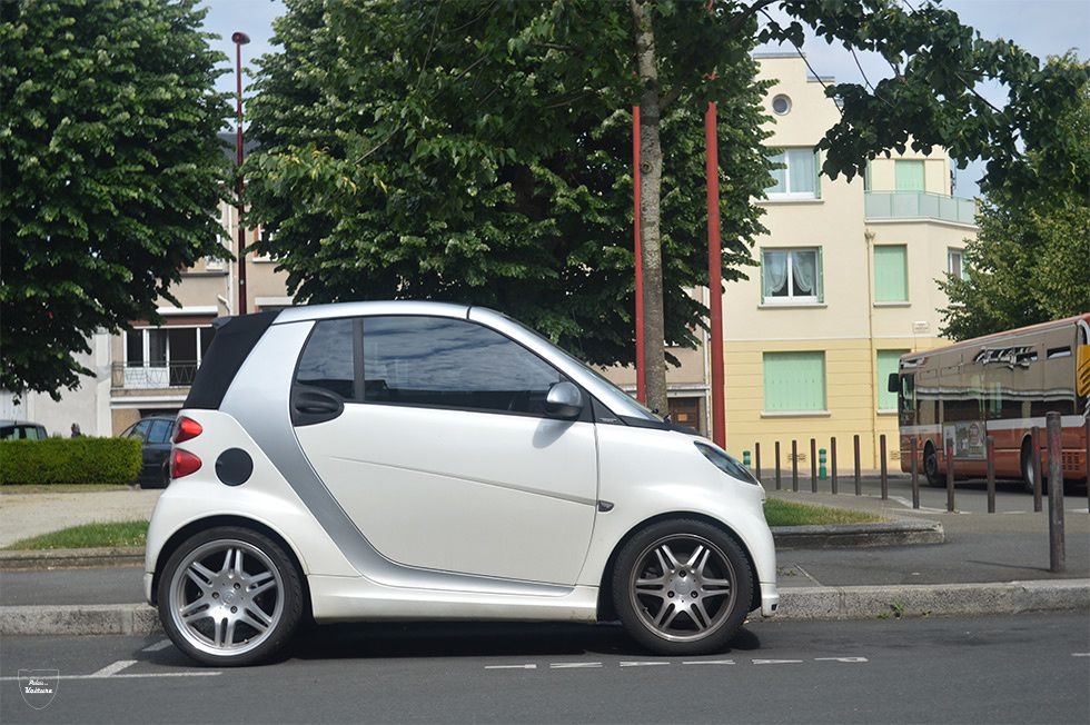 AE50 • Smart Fortwo (451) Brabus Xclusive cabriolet '10