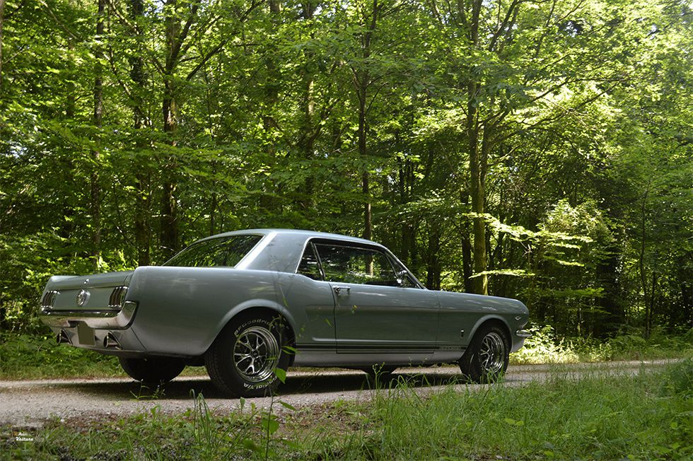 AD41 • Ford Mustang GT coupé V8 289 ci '65