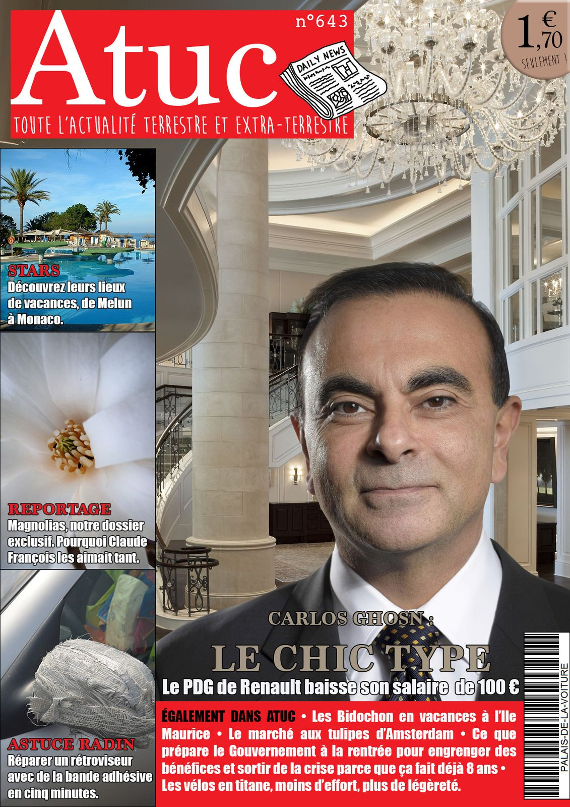 Atuc n°643 • Merci Monsieur Ghosn !