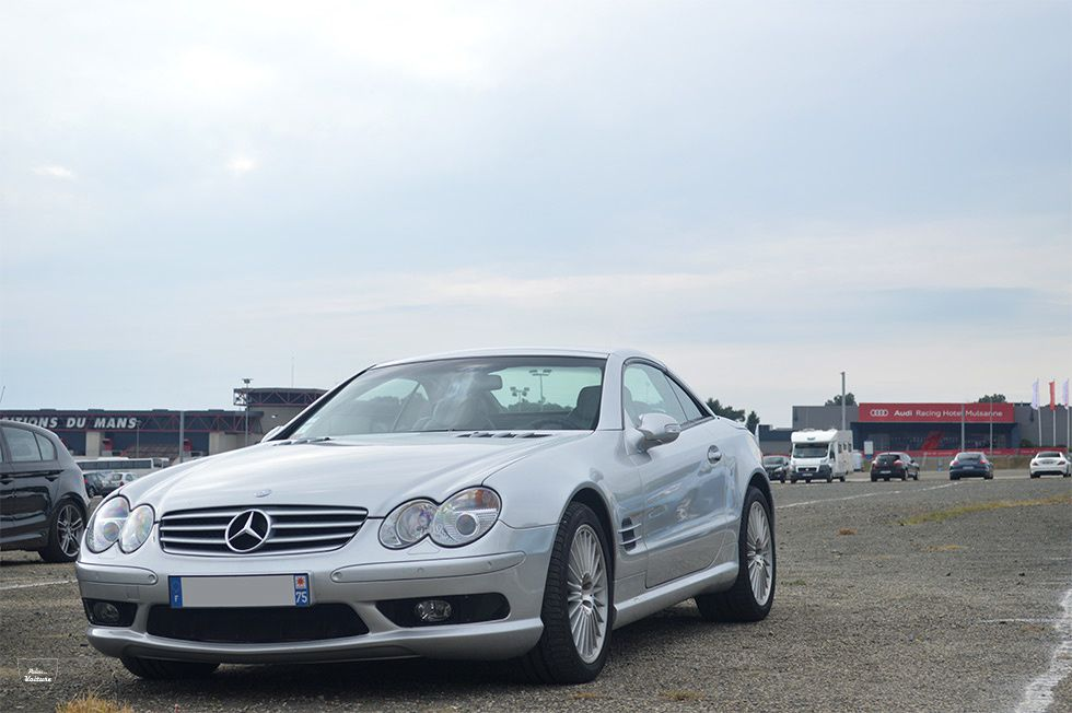 AB10 • Mercedes SL (R230) 55 AMG '02