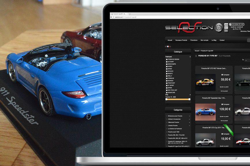 SélectionRS : présentation du pro de la Porsche miniature