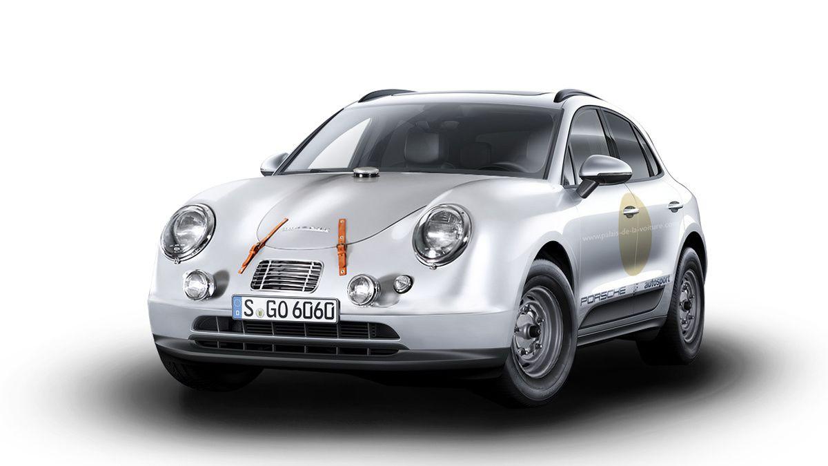 Le SUV Premium Macan marié avec une vraie légende de l'automobile, la Porsche 356.