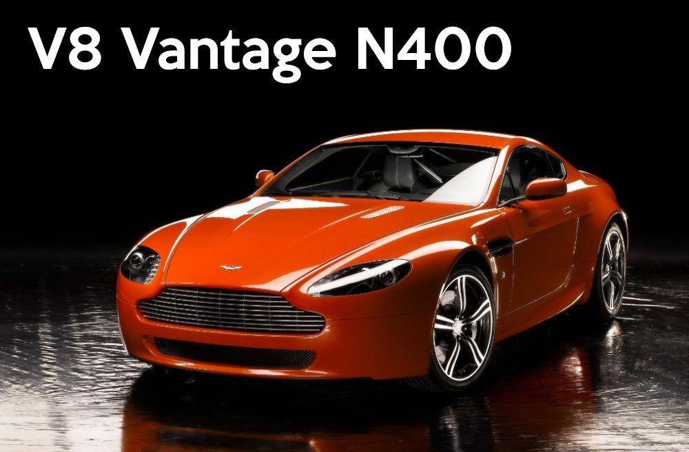 Aston Martin V8 Vantage : toutes les versions à la loupe