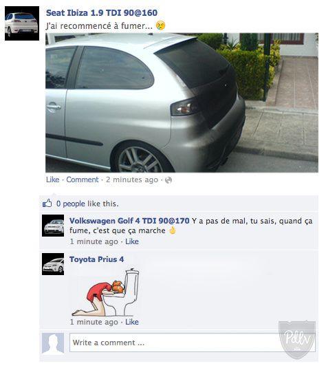 Nos voitures sur Facebook #1