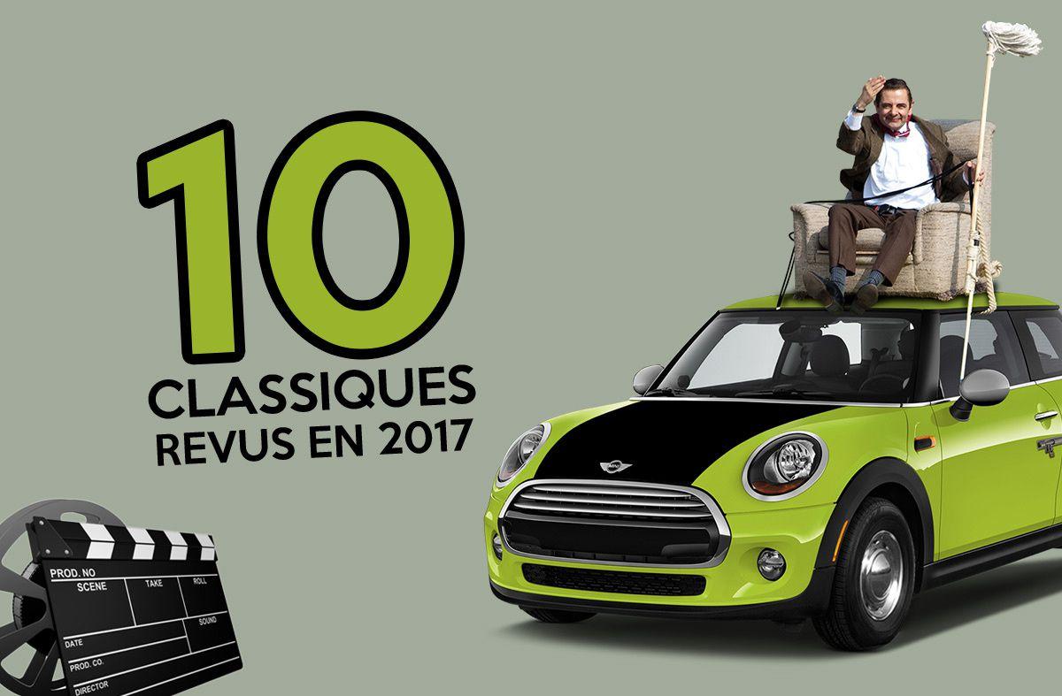 Voiture de film : 10 classiques recyclés en 2017