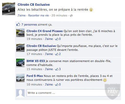 Nos voitures sur Facebook #3