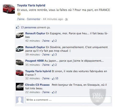 Nos voitures sur Facebook #2