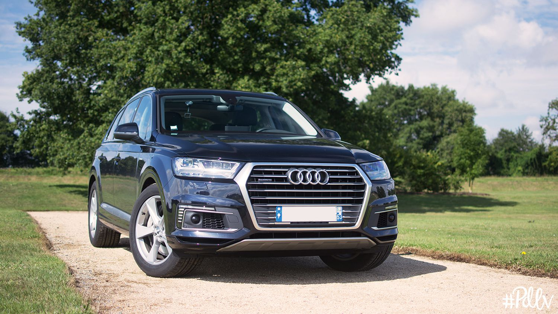 """Audi Q7 3.0 TDI e-tron : le mastodonte """"écologique"""" à l'essai"""