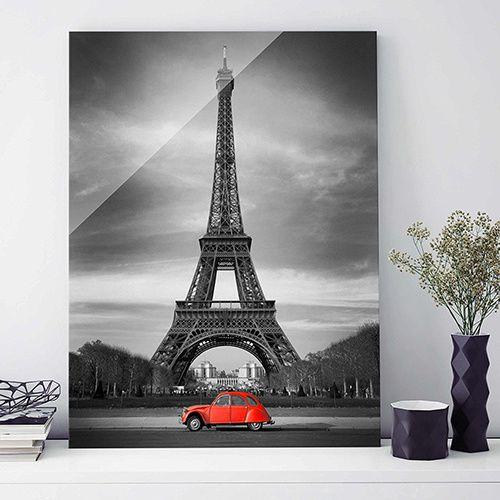 Tableau 2cv Paris 70x100 cm