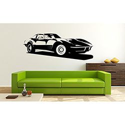 Sticker mural Chevrolet Corvette C3 Stingray
