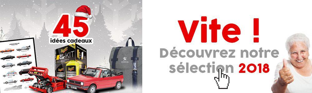 Découvrez notre sélection cadeau passionnés de voiture