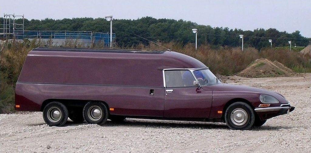 Citroën DS Bagagère Tissier, 1973