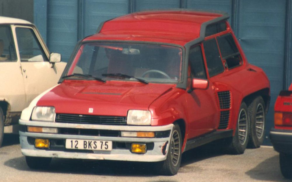 Renault 5 Turbo Léotard