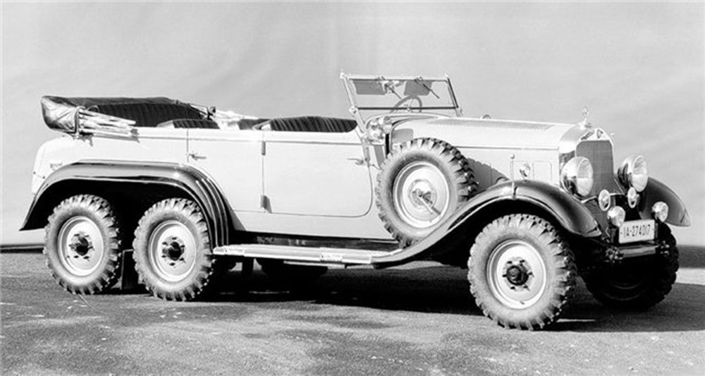 Mercedes G4 W31, 1934, photo : passionmilitaria.com