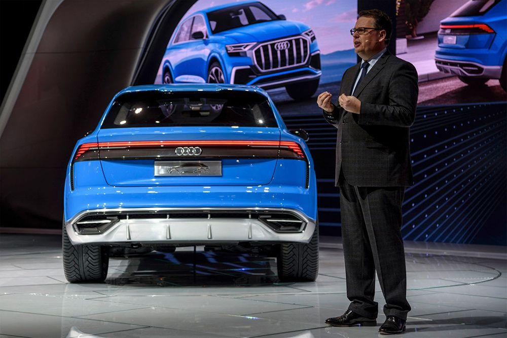 Audi Q8Concept : le nouveau SUV allemand attendu en 2018