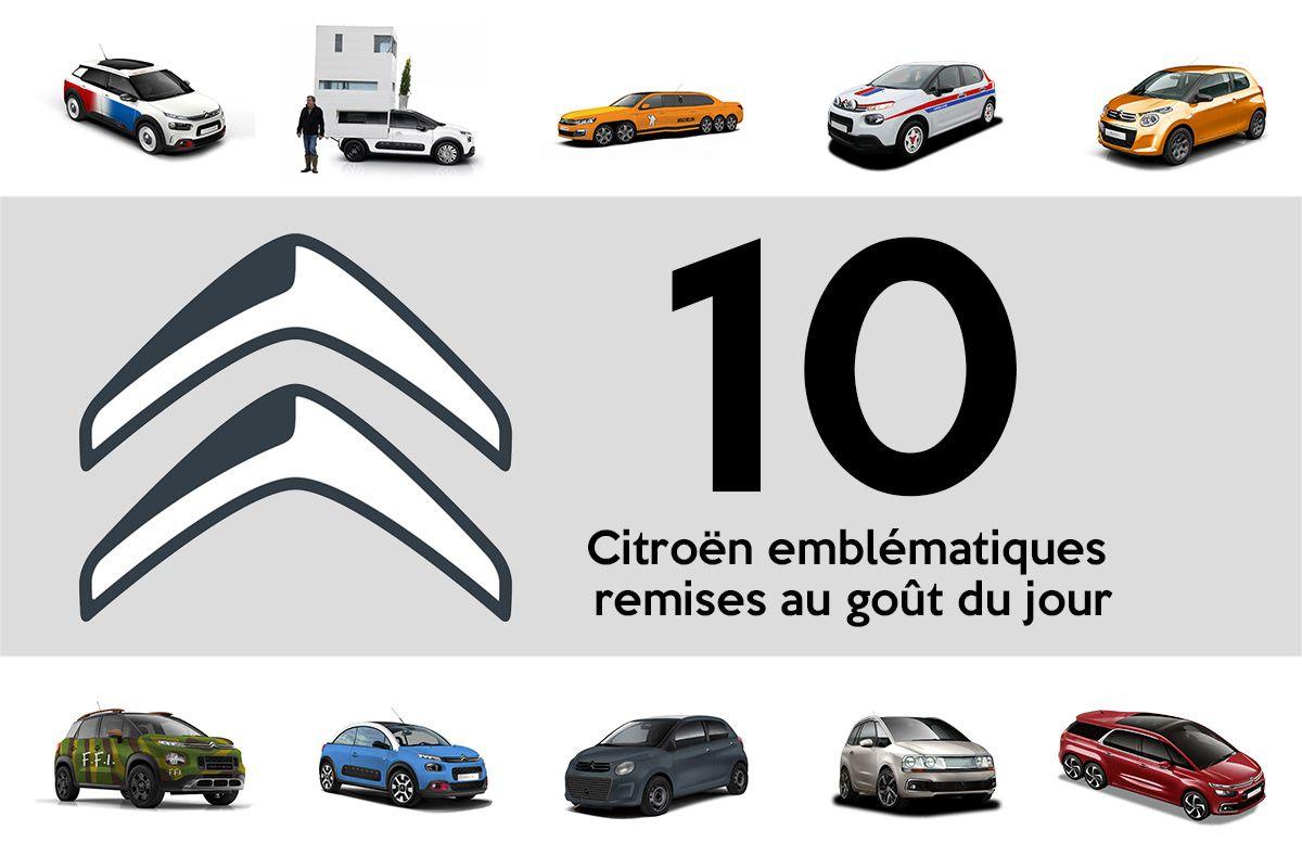 10 Citroën emblématiques remises au goût du jour