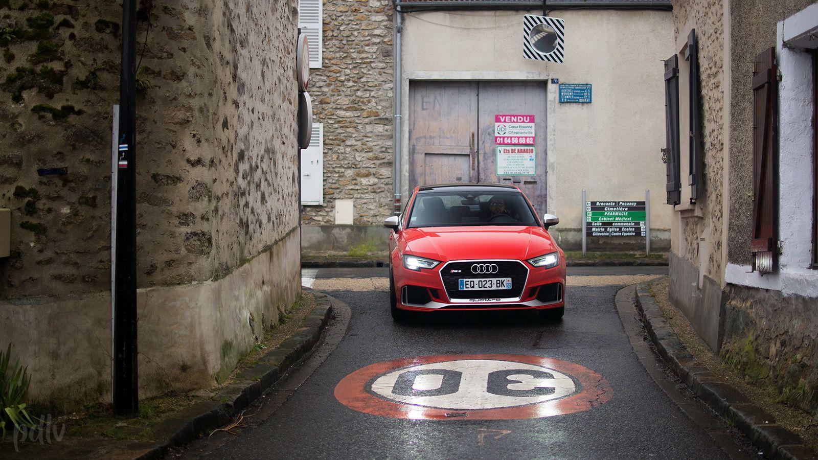 Audi RS 3 berline TFSI 400 : un essai pas comme les autres...