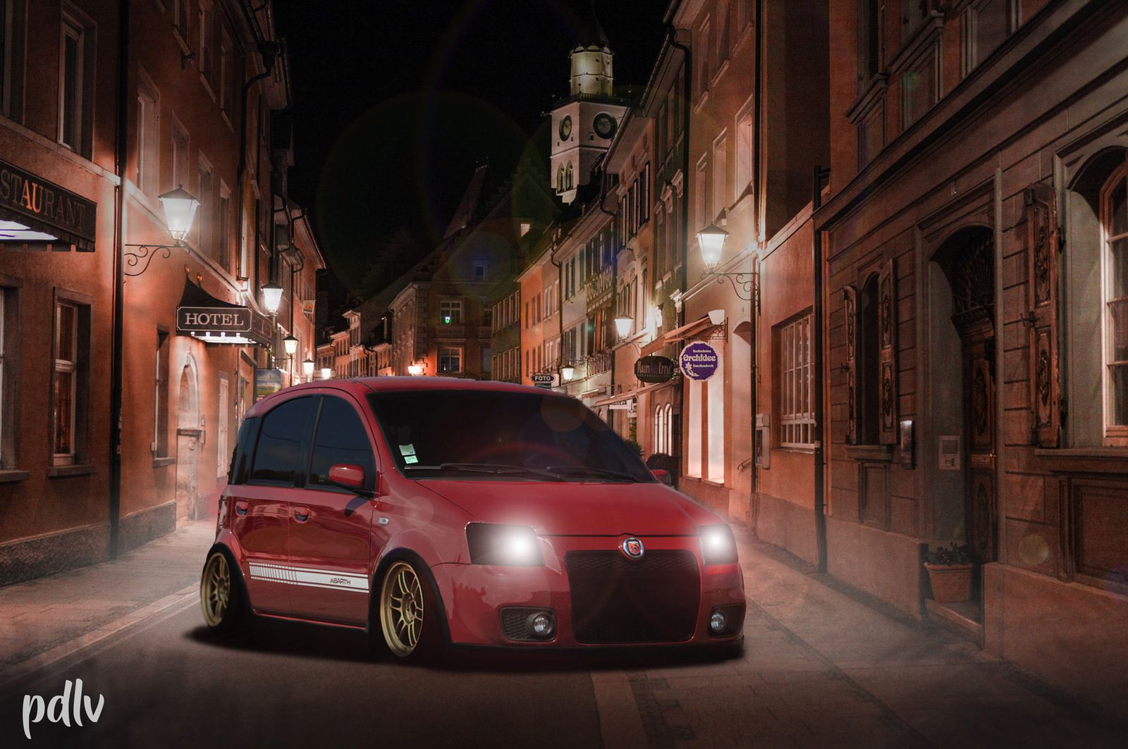 Les voitures de PDLV vs. Photoshop