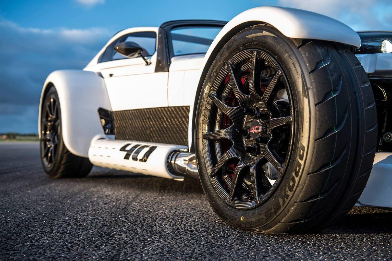 Donkervoort D8 GTO-40 : sportive (vraiment) très légère