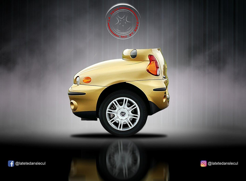 Fiat Multipla, La tête dans le cul, 2017