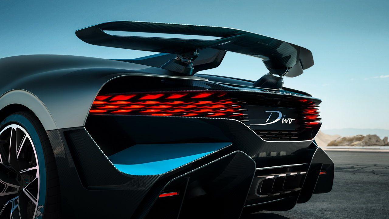 Bugatti Divo : La Chiron mais en fait c'est pas une Chiron