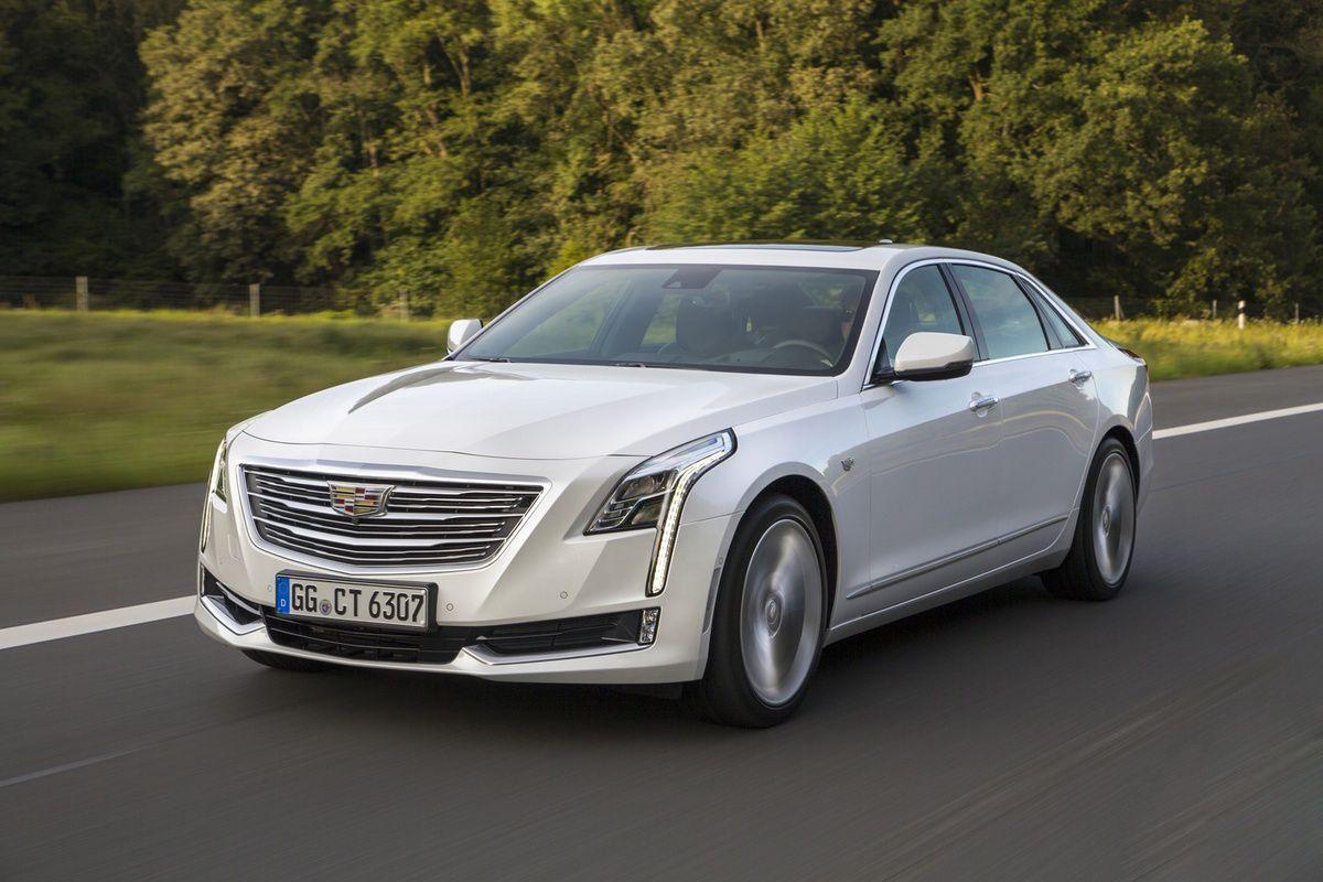 Autre modèle Cadillac, la luxueuse CT6