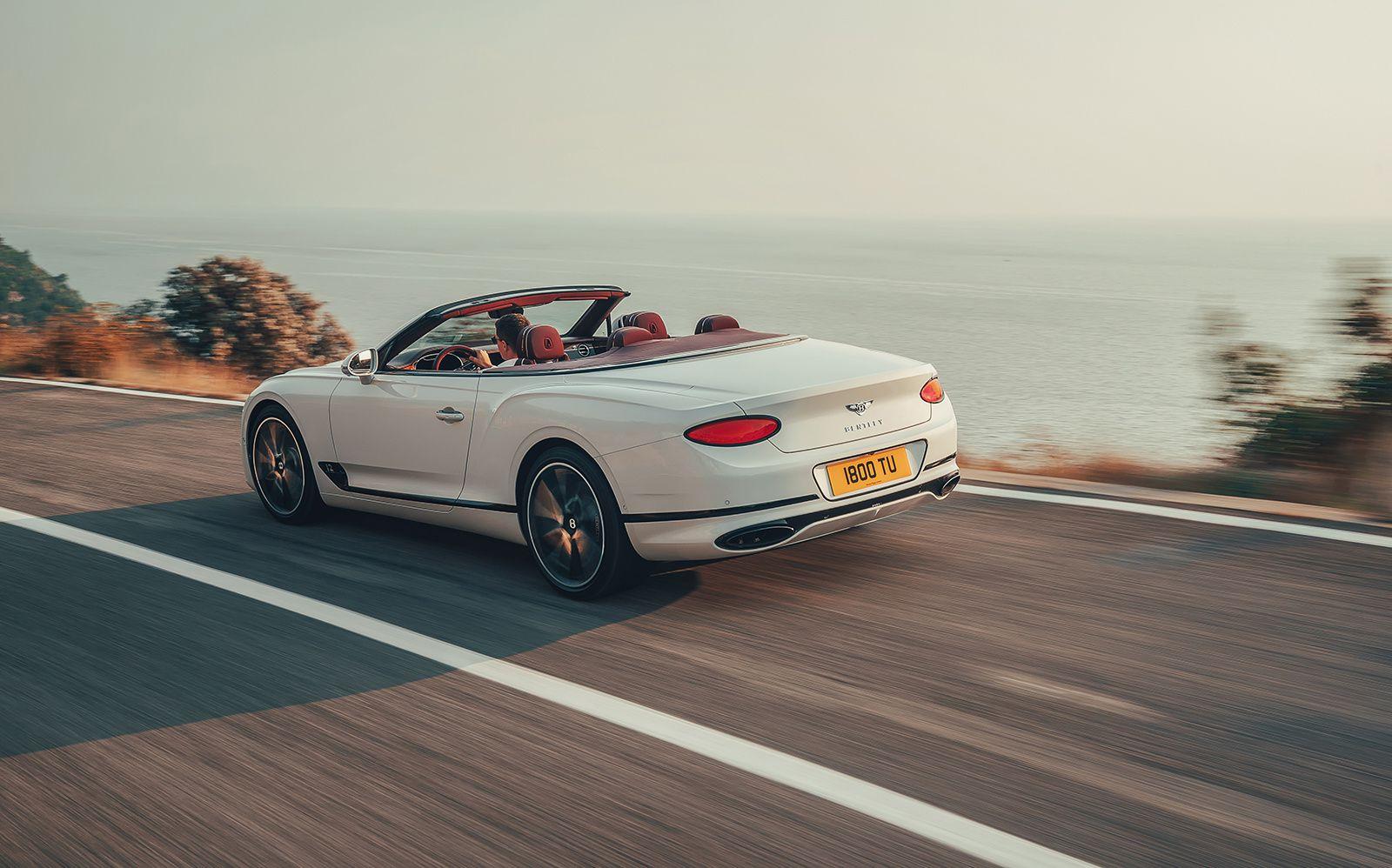 Bentley Continental GT convertible : déshabillez-moi !