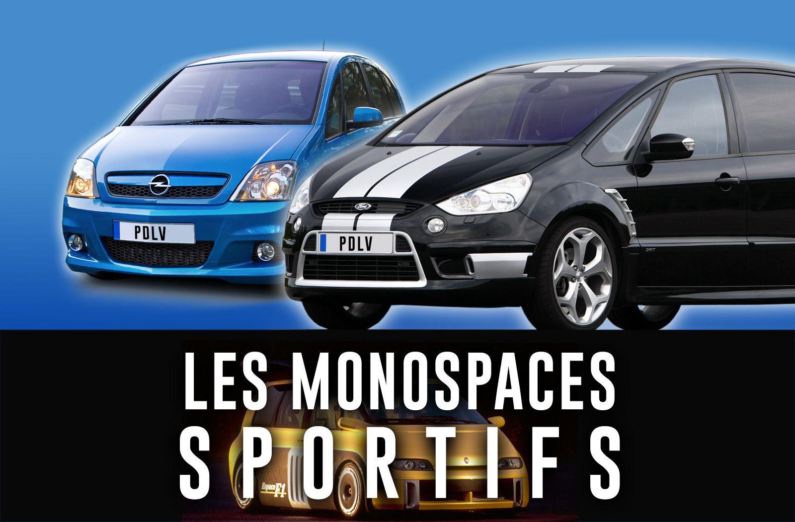 Rétrospective des monospaces sportifs