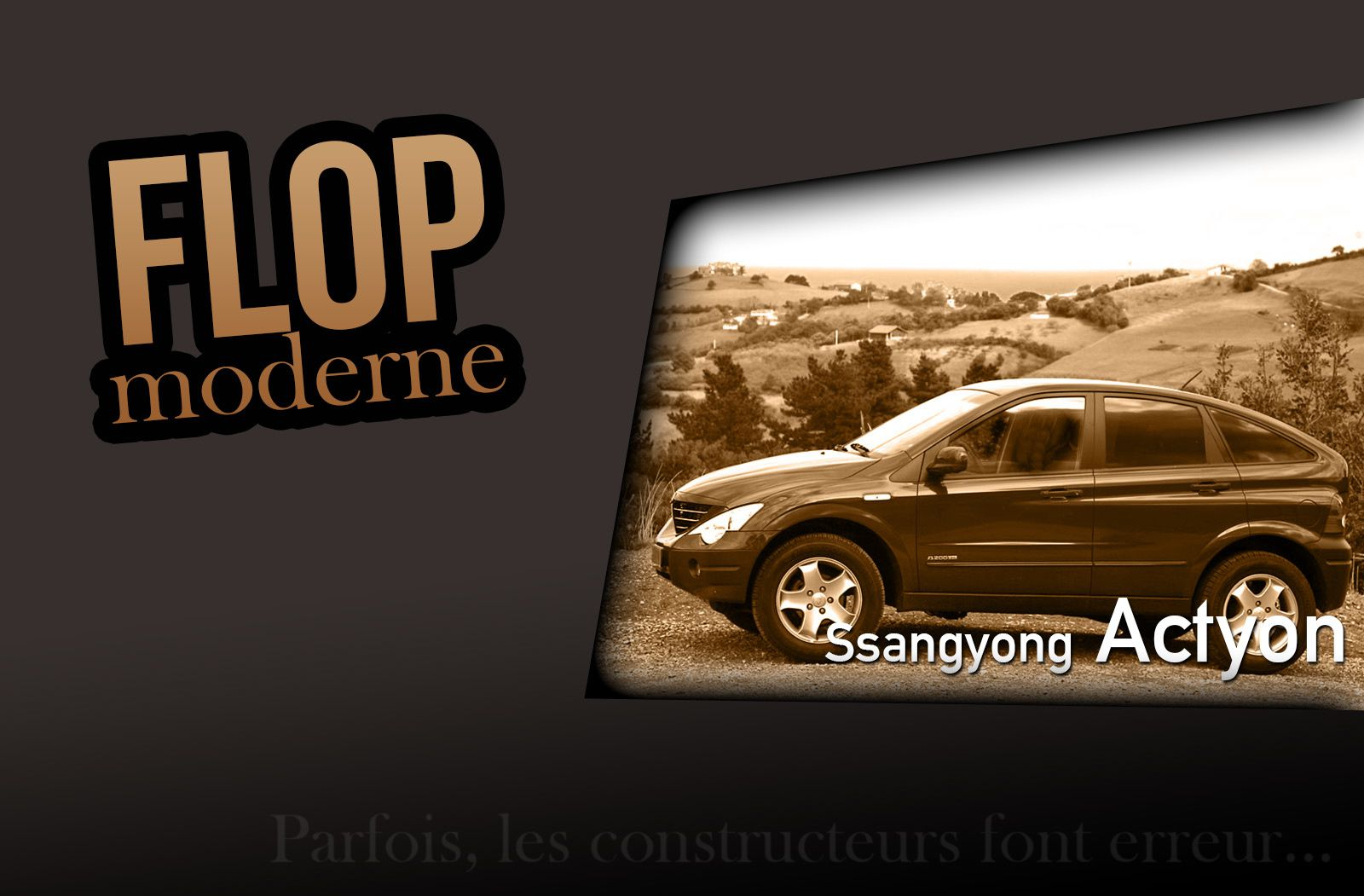 Flop moderne : le Ssangyong Actyon