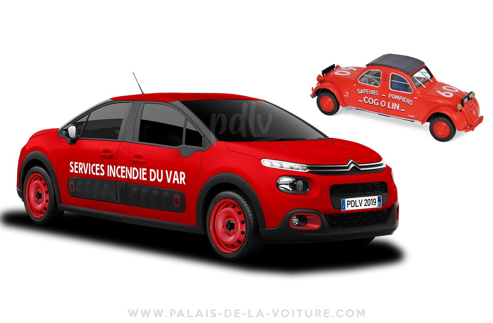 8 Citroën C3 pour rendre hommage à la 2CV