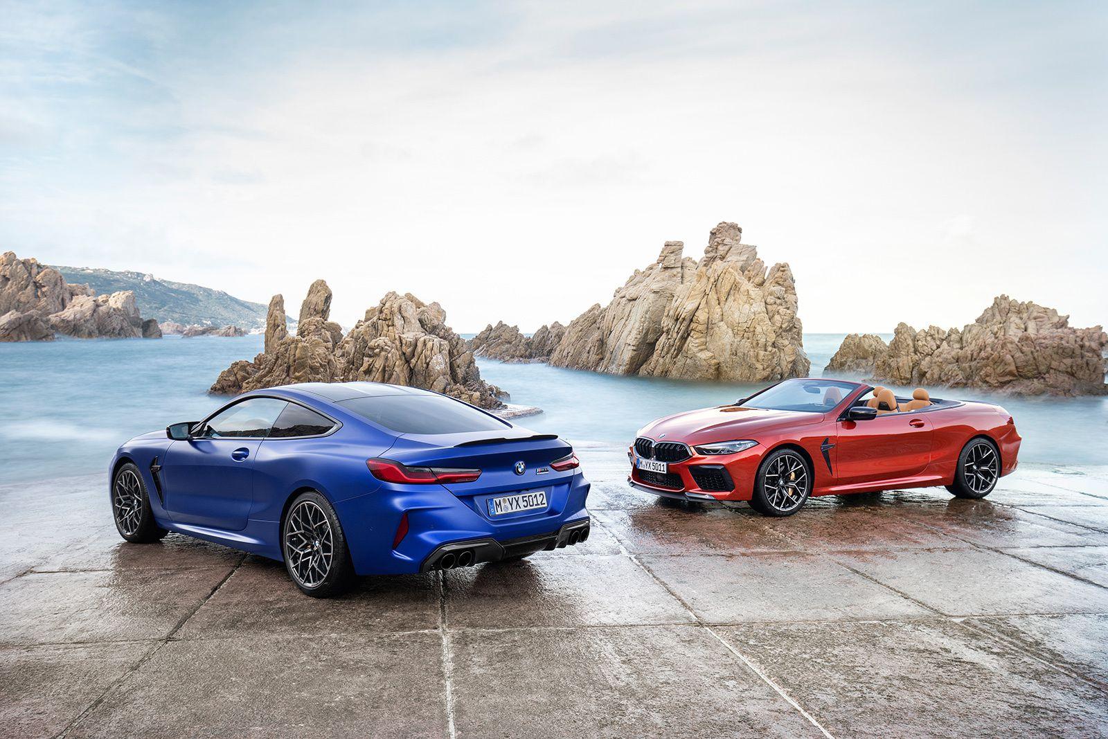 BMW M8 Compétition : grosse calandre... mais grosse puissance !