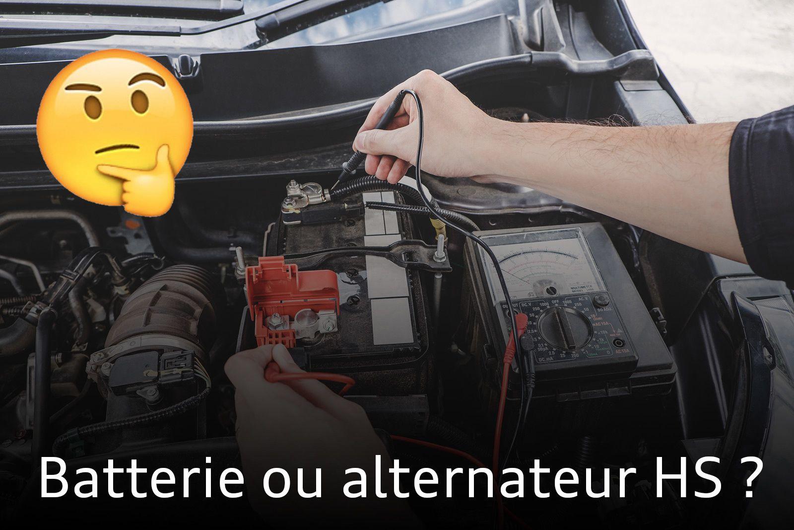 Ma voiture ne démarre plus : batterie ou alternateur ?