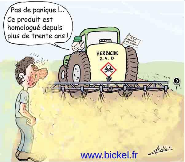 santé publique, pesticides, glyphosate, Monsanto, maladie