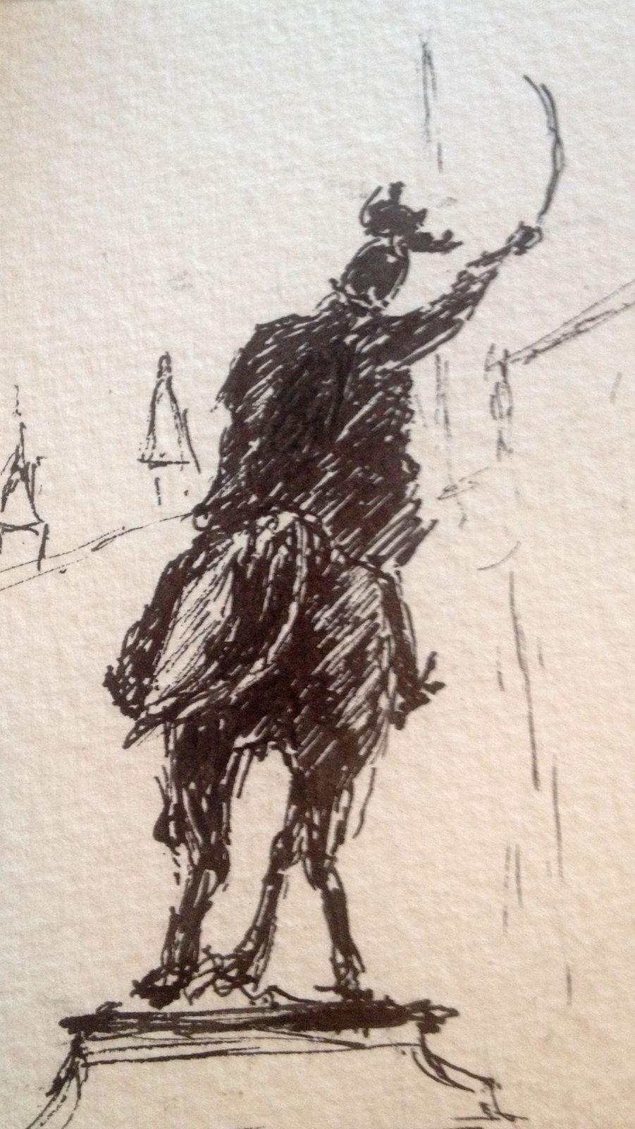 Victor Emmanuel II sur la riva dei Schiavoni