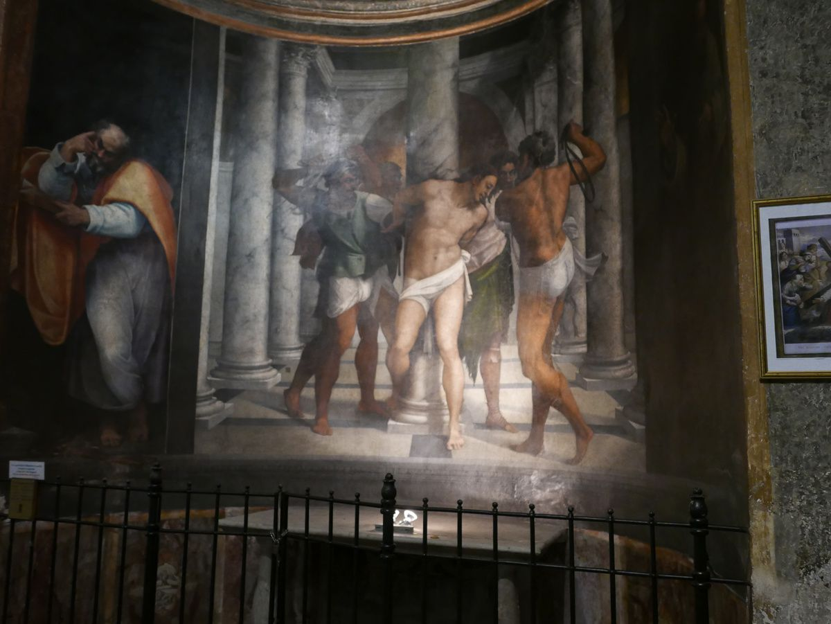 Le Caravage - San Pietro in Montorio - Flagellation