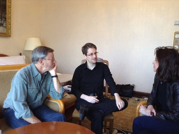 Photo DR. Edward Snowden interviewé à Moscou par The Nation