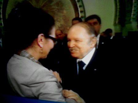 En 2010 au palais du Peuple. Photo DR