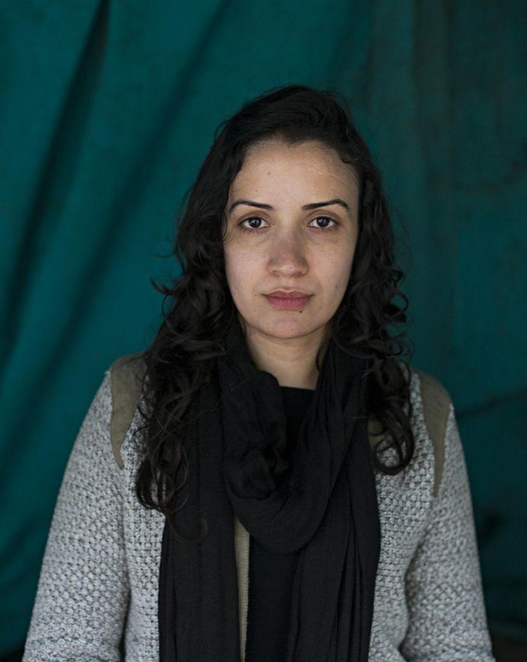 Amani Allagui à Tunis le 26 mars 2015. Photo Isabelle Rimbert